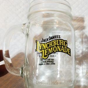 Jack Daniel's mason jar mug